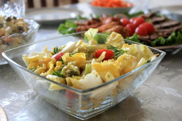 Қытай қырыққабатынан салат